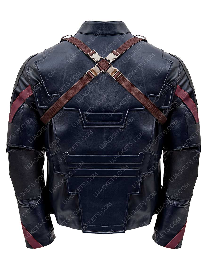 Avengers Captain America Jacket
