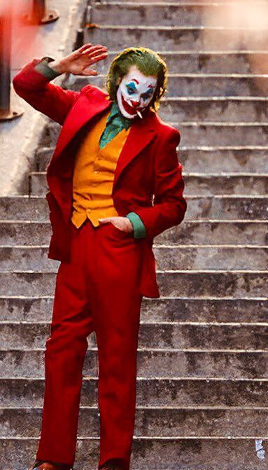 Joker Red Full Suit