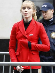 Pokemon Detective Pikachu Kathryn Newton Cotton Coat