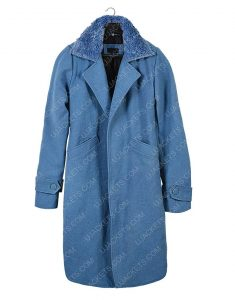 Sandra Bullock Malorie Blue Trench Coat