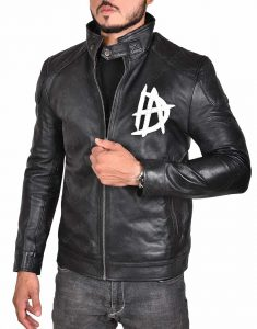 WWE Dean Logo Leather Jacket