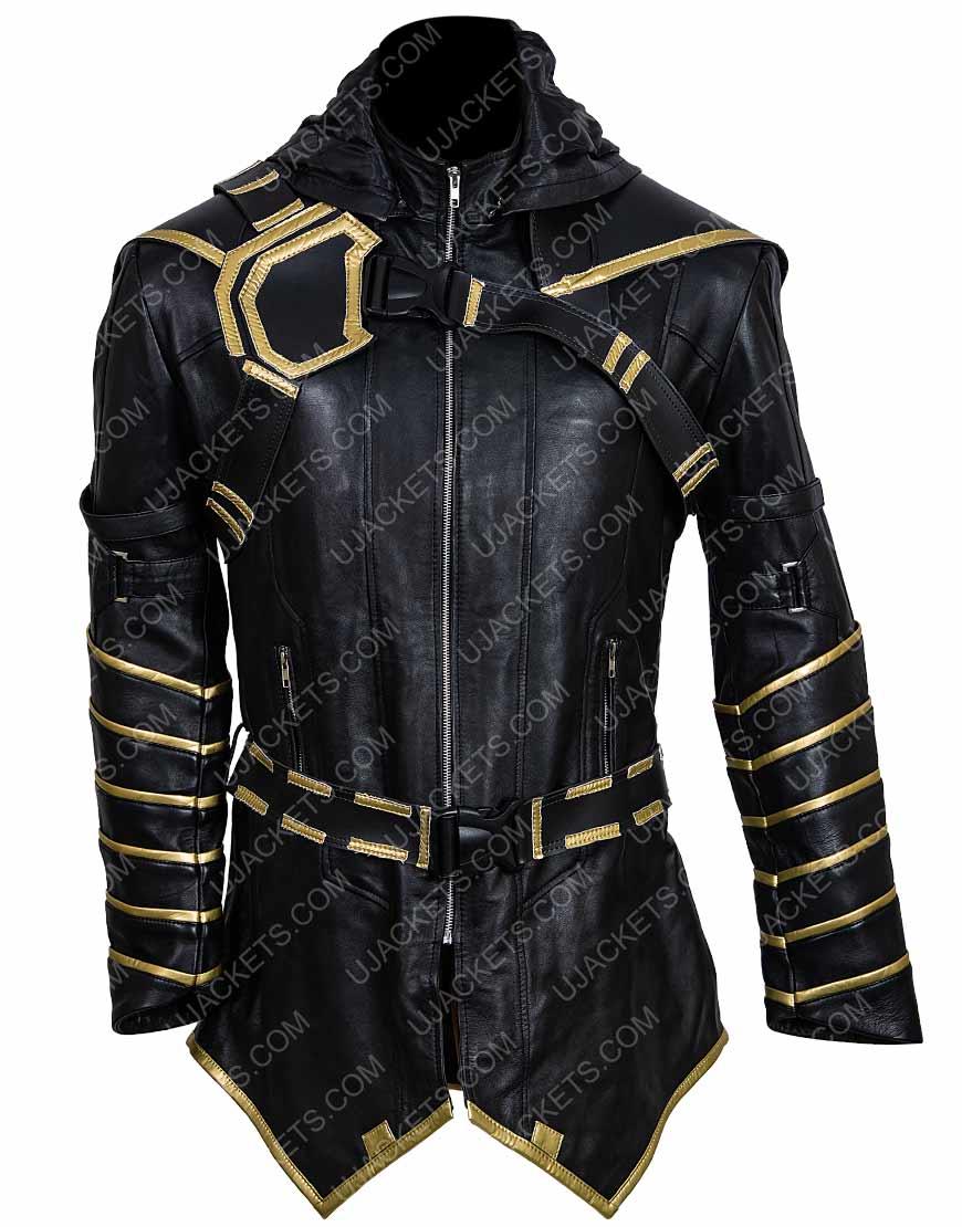 Avengers Endgame Jeremy Renner Ronin Hooded Jacket