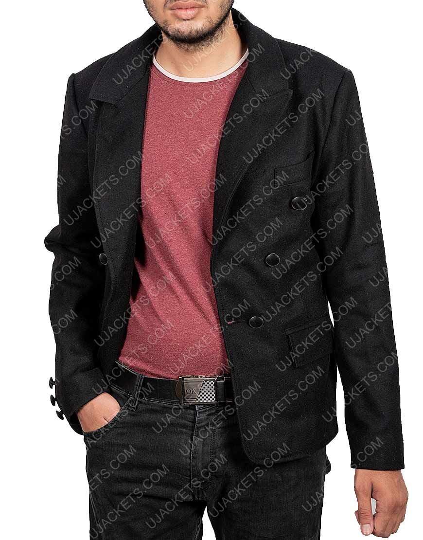 Crowley Good Omens Black Jacket