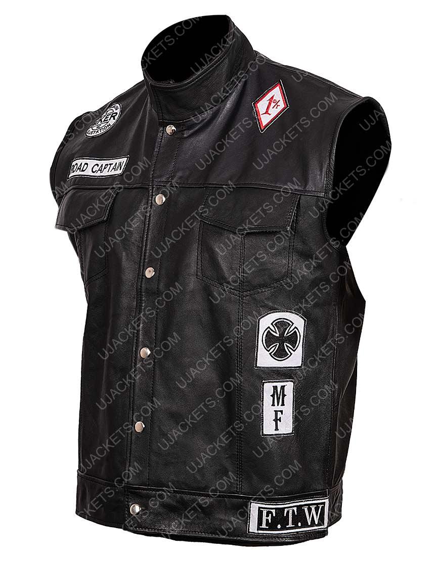 Deacon Leather Vest