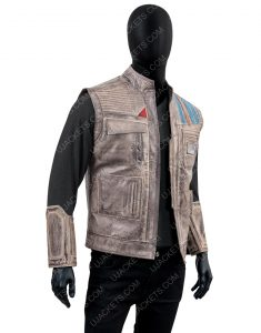 John Boyega Star Wars Rise of the Skywalker Finn Vest