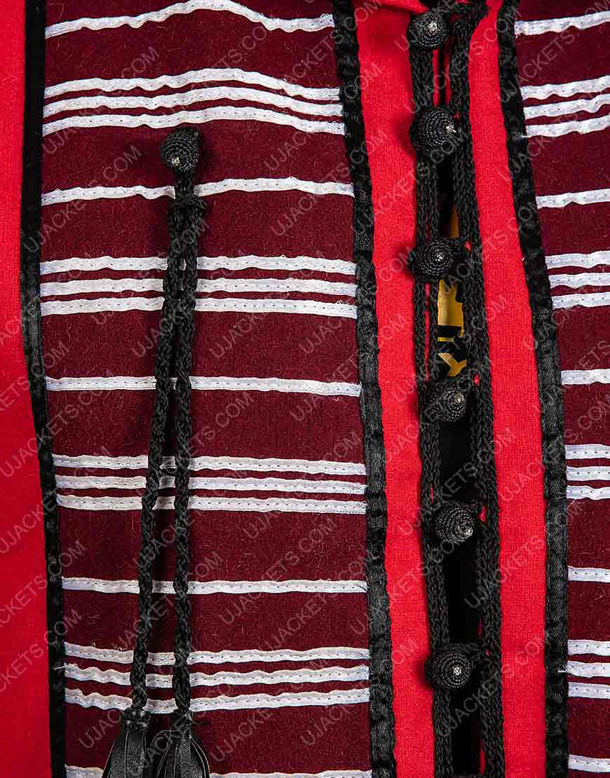 Red Hooded Vest