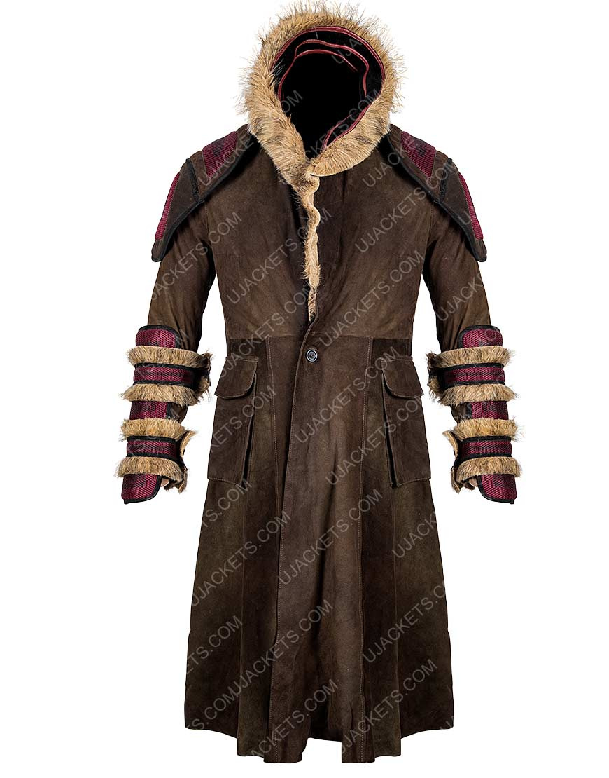 Sunny Into the Badlands Daniel Trench Coat