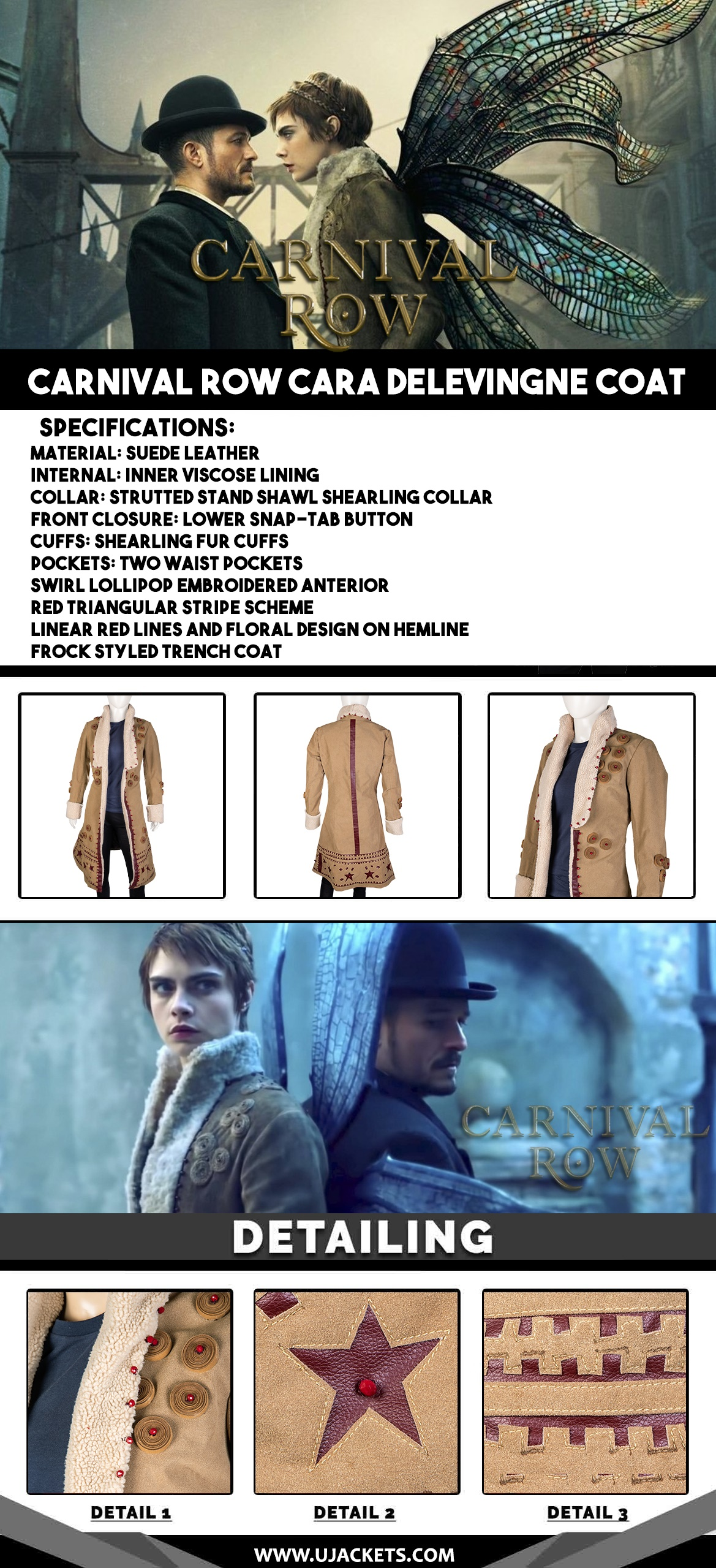 infographic--Carnival-Row-Cara-Delevingne-Coat