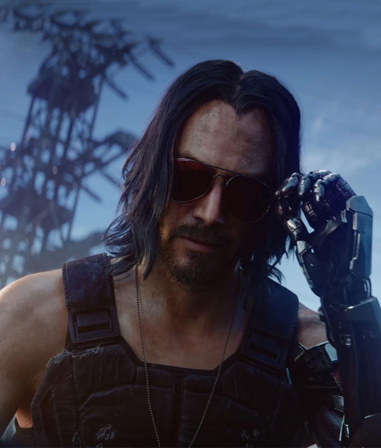 Cyberpunk 2077 Keanu Reeves Vest