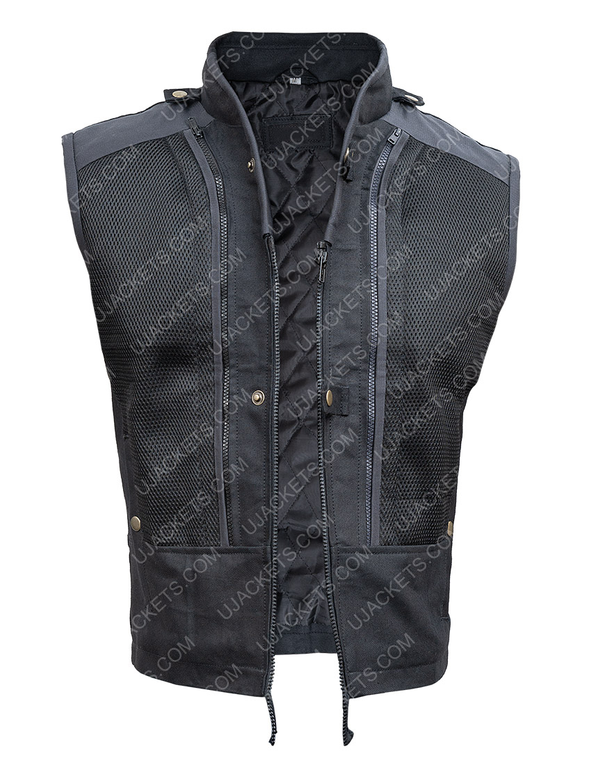 Fast & Furious Hobbs & Shaw Black Vest