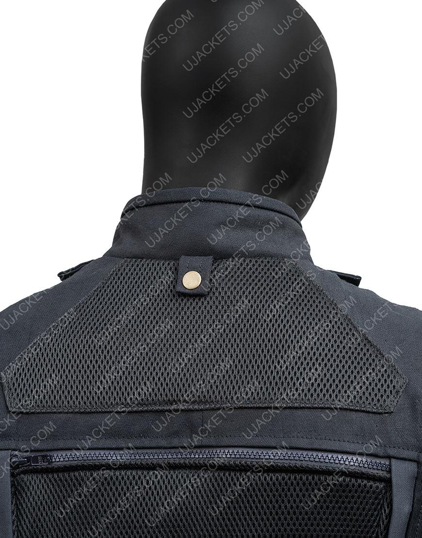 Fast & Furious Hobbs & Shaw Dwayne Johnson Black Vest
