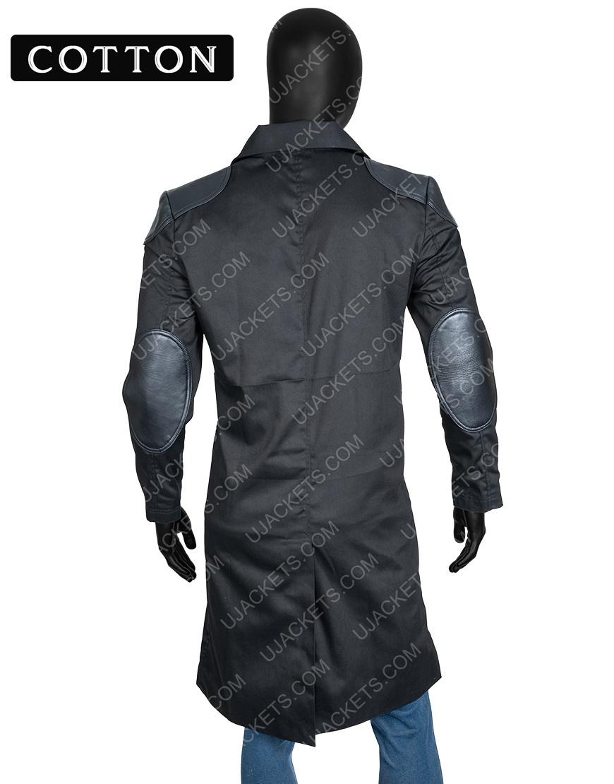 Billy Butcher The Boys Karl Urban Black Coat