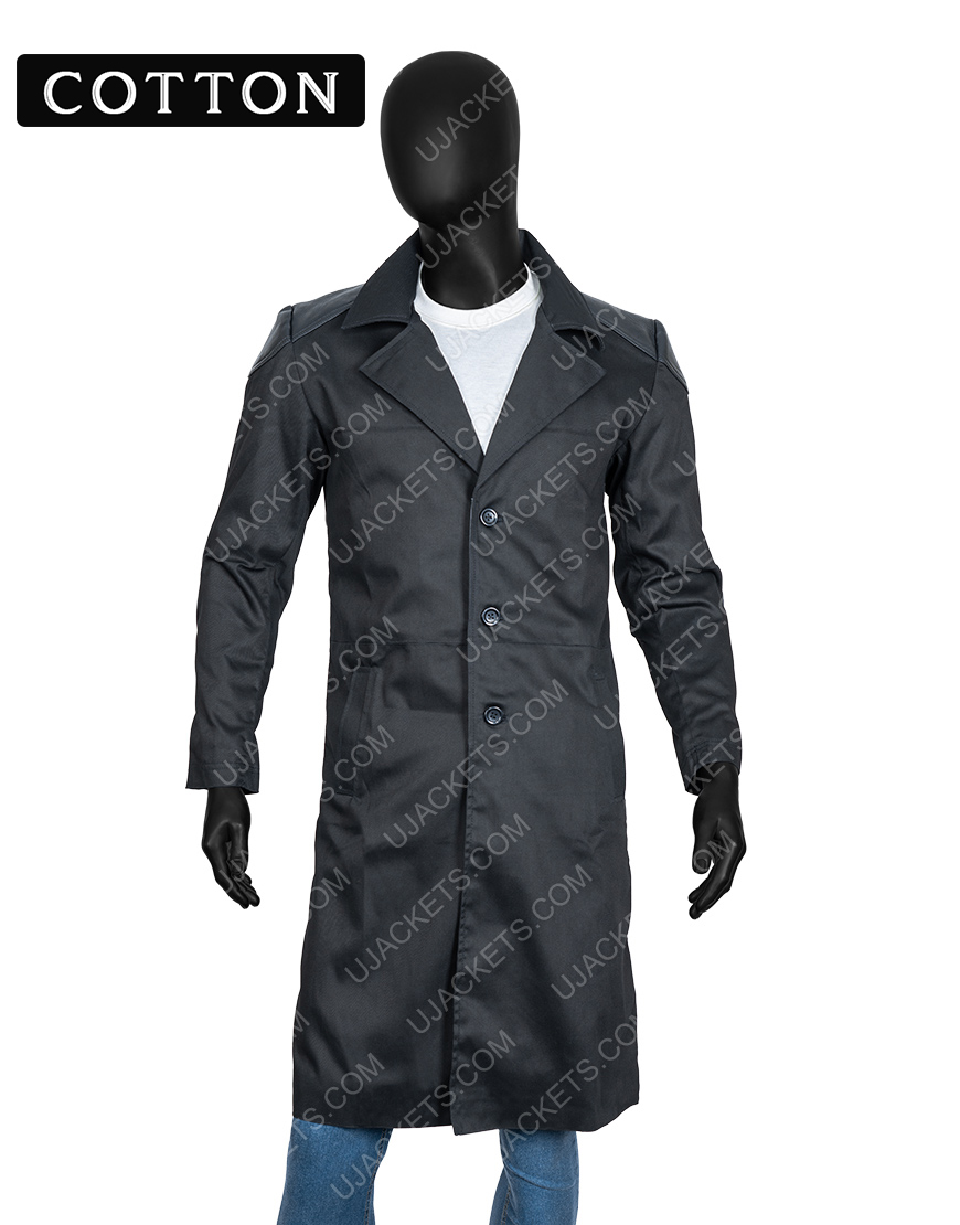 Billy Butcher The Boys Karl Urban Trench Cotton Coat