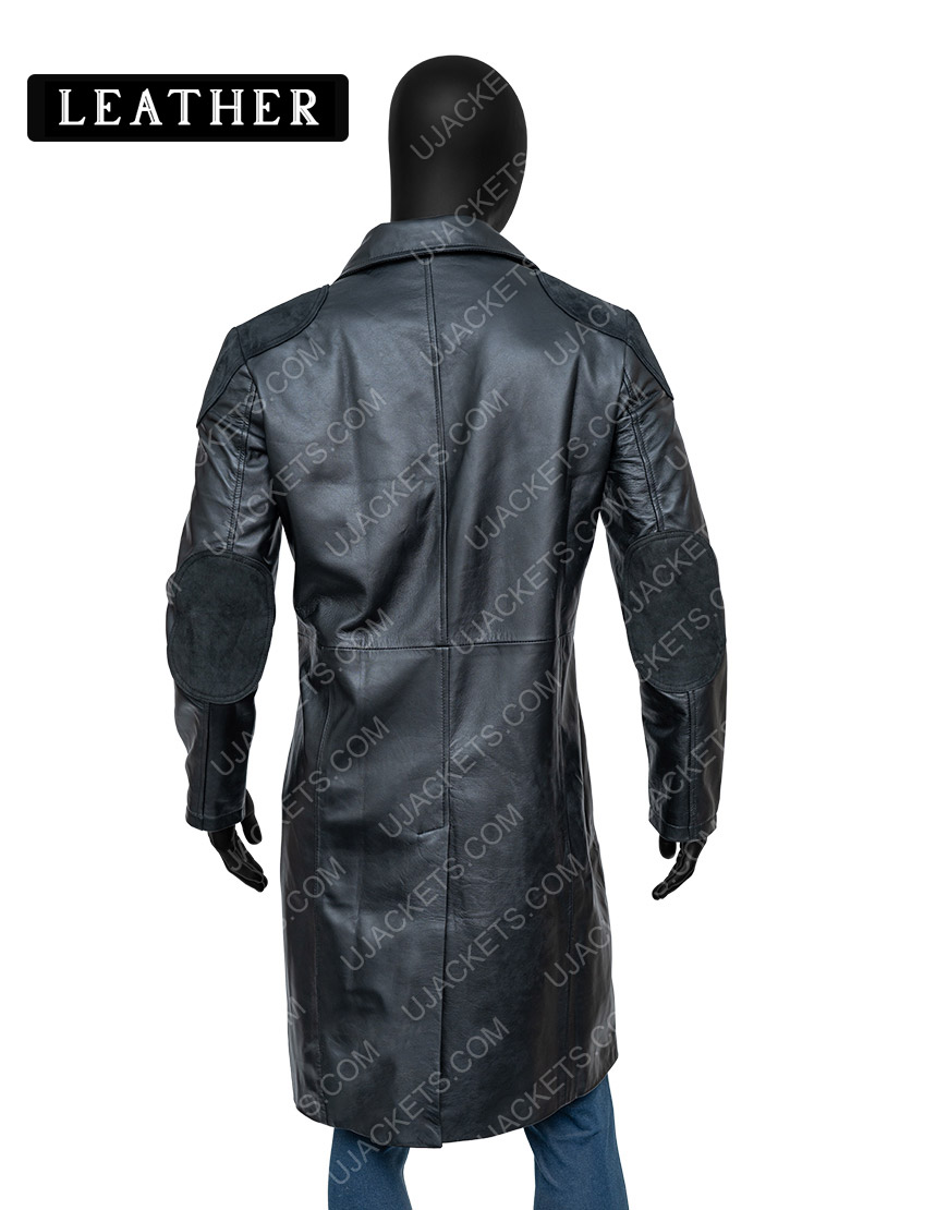 Billy Butcher The Boys Karl Urban Trench Leather Black Coat