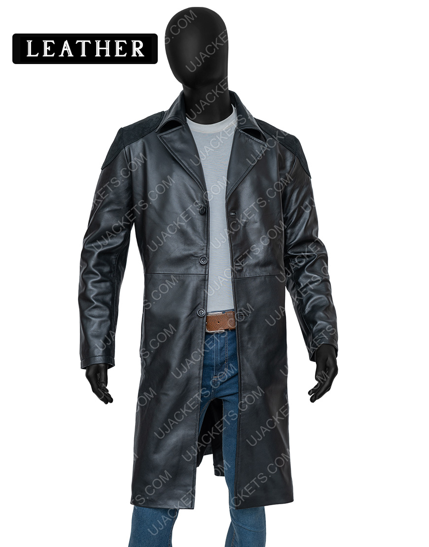 Billy Butcher The Boys Karl Urban Trench Leather Coat