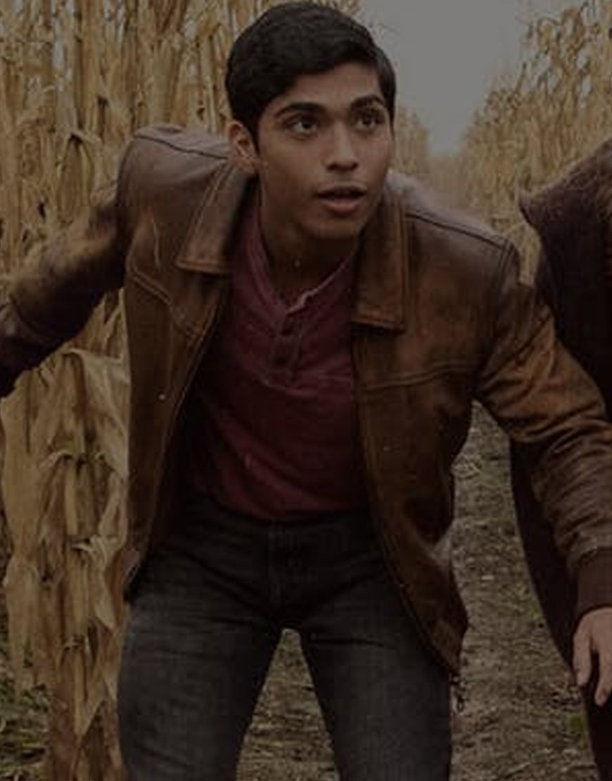 Michael-Garza-Scary-Stories-to-Tell-in-the-Dark-Distressed-Leather-Jacket