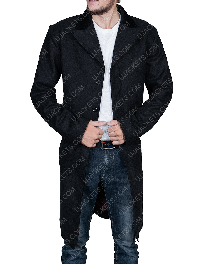 Peaky Blinders Cillian Murphy Black Coat