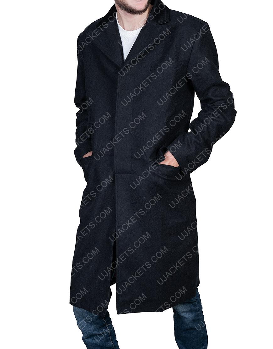 Peaky Blinders Thomas Shelby Black Coat