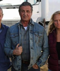 Sylvester Stallone Rambo Last Blood Denim Jacket