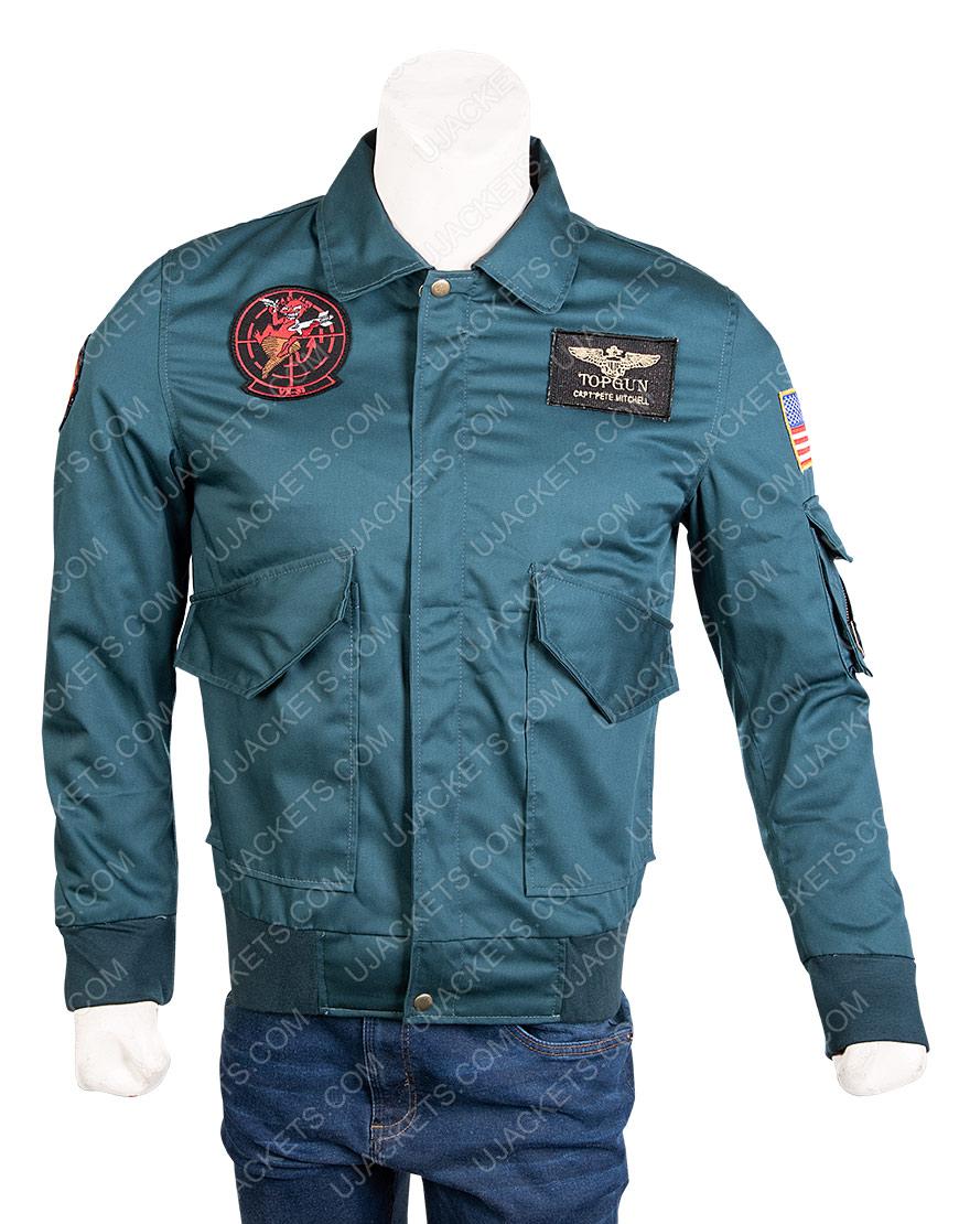 Top-Gun-2-Maverick-Green-Jacket