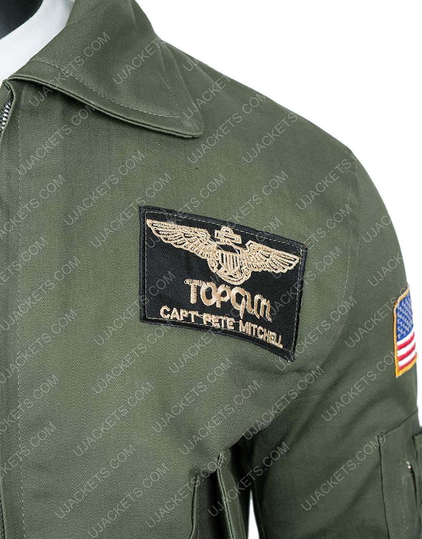 Top Gun 2 Maverick Tom Cruise Cowhide Leather Jacket
