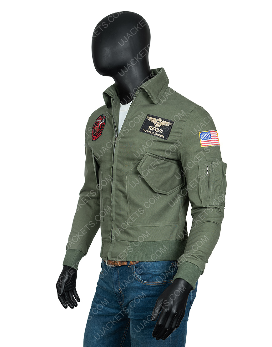 Top Gun Maverick Leather Jacket