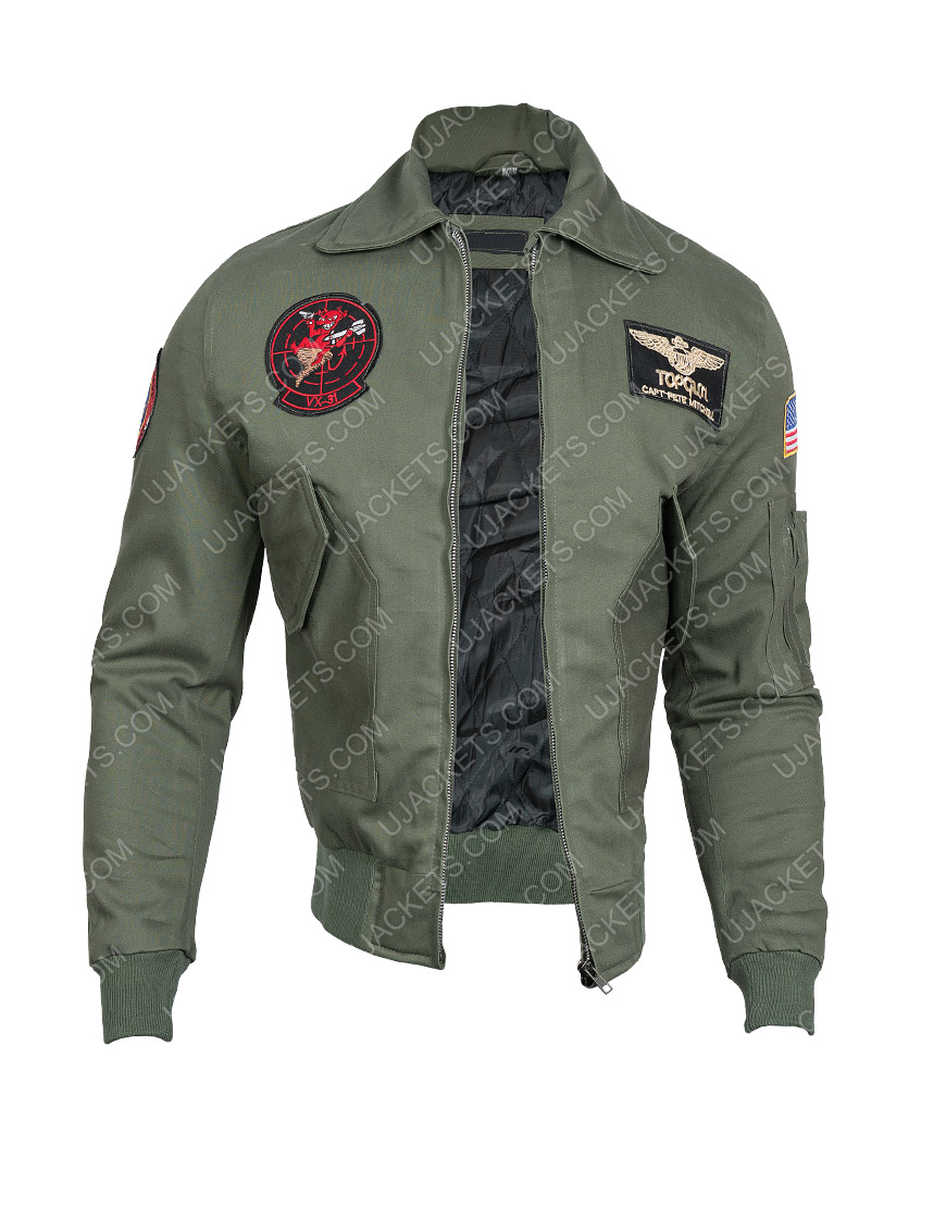 Top Gun Maverick Tom Cruise Cowhide Jacket