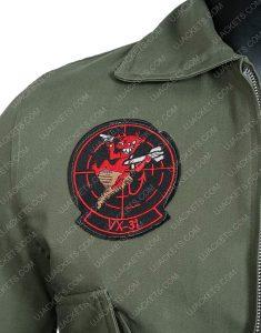 Top Gun Tom Cruise Cowhide Leather Jacket