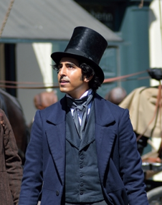 Dev Patel The Personal History of David Copperfield Blue Coat