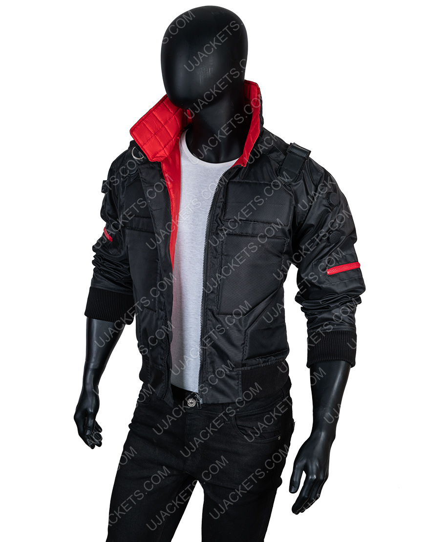 Jackie Welles Cyberpunk 2077 Black Jacket