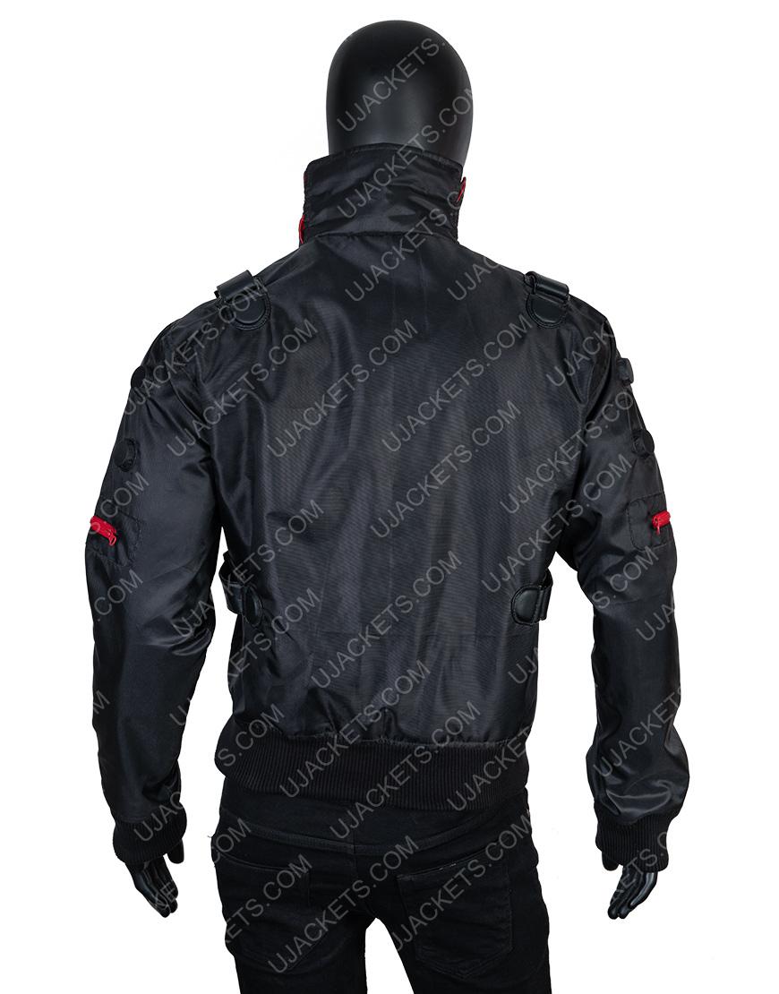 Jackie Welles Cyberpunk 2077 Bomber Black Jacket