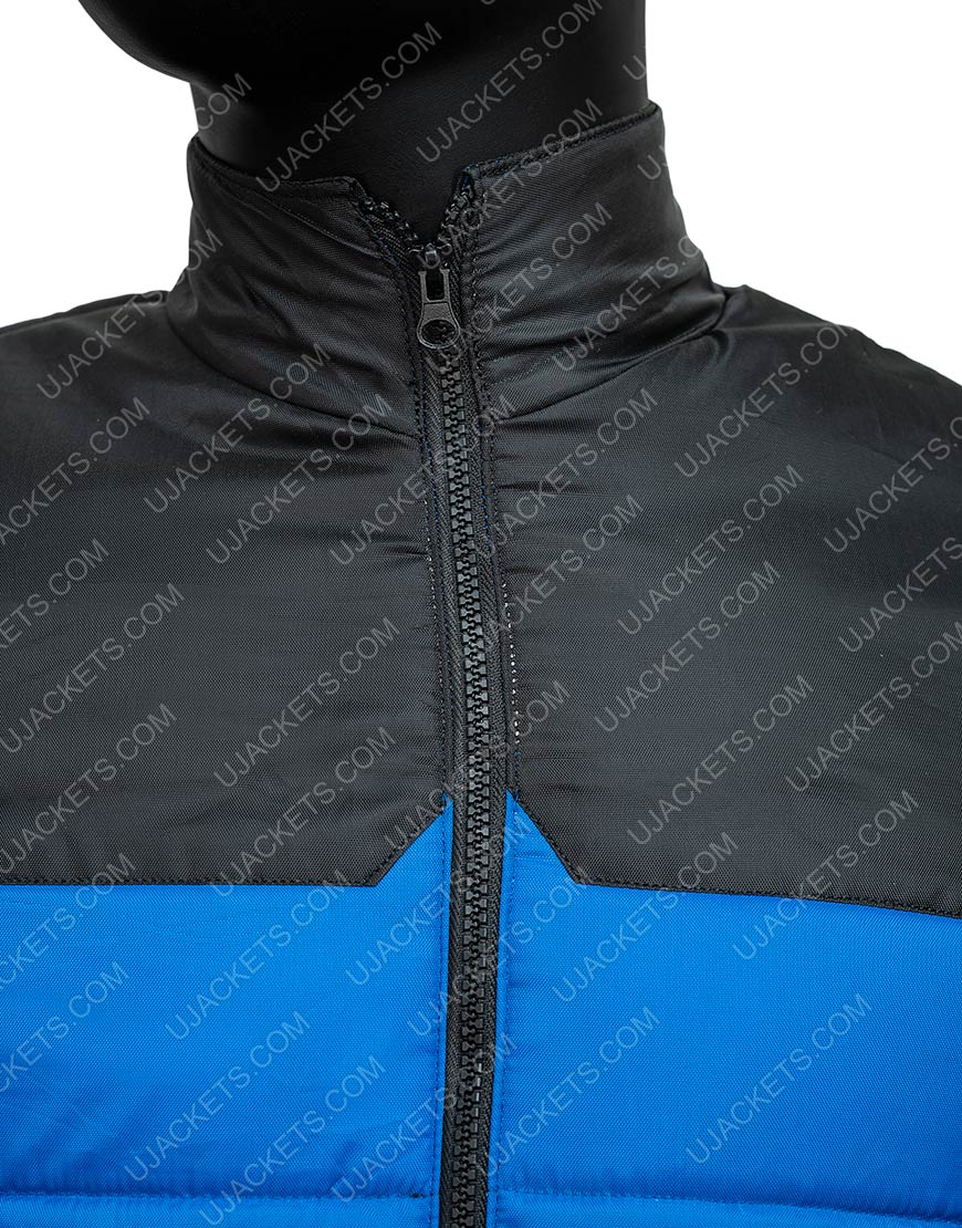 Micheal Ward Blue Top Boy S3 Jacket