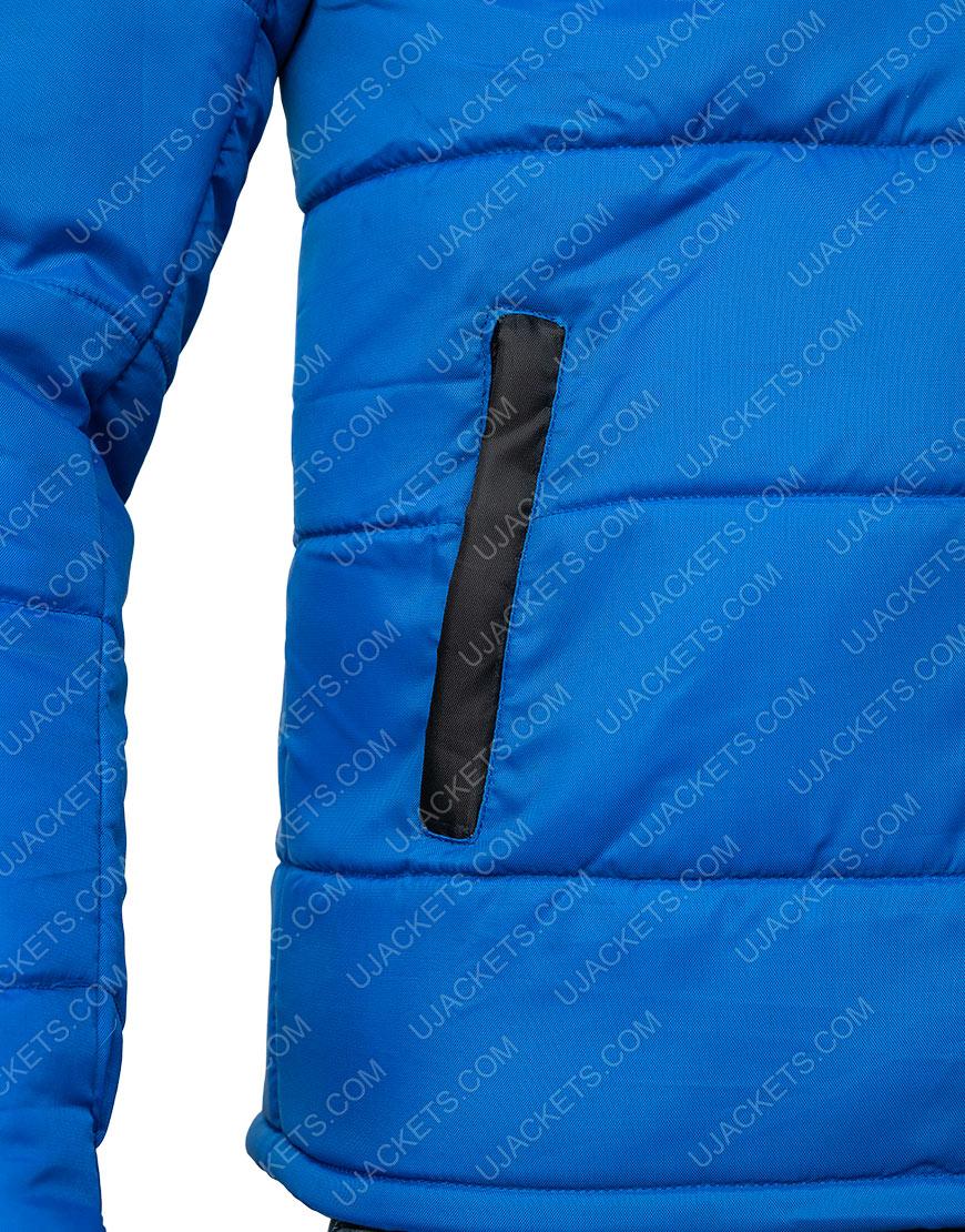 Micheal Ward Top Boy S3 Blue Jacket