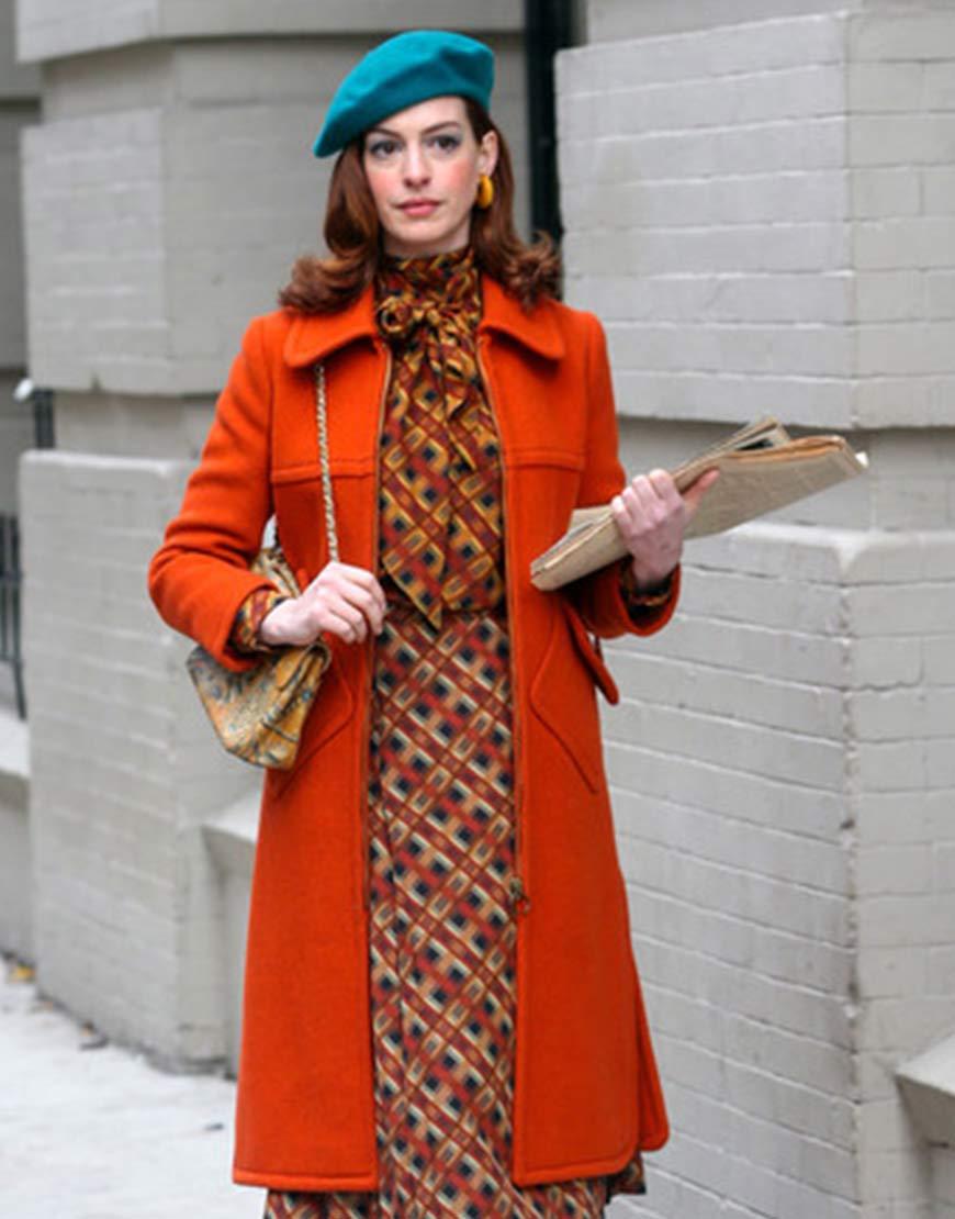 Modern Love Orange Coat
