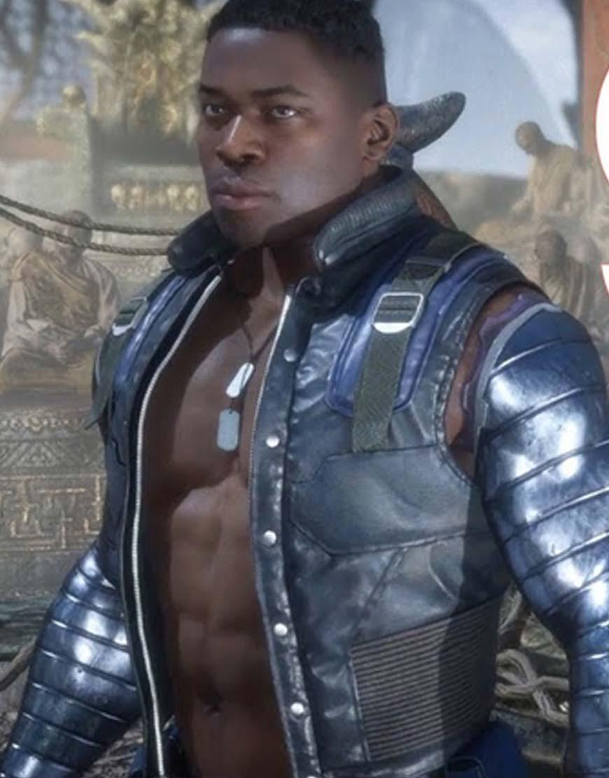 Mortal Kombat 11 Jax Blue Jacket