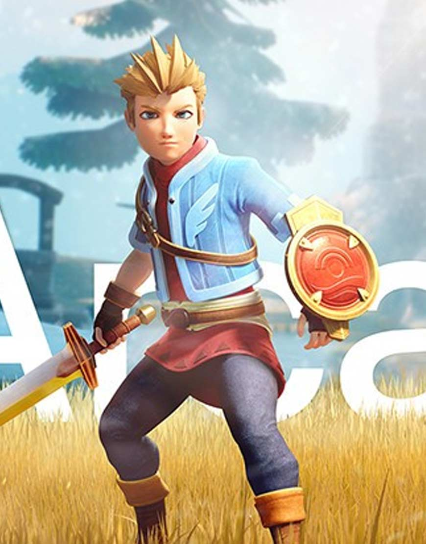 Oceanhorn 2 Knights of the Lost Realm Blue Jacket