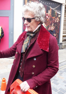 Peter Capaldi The Personal History of David Copperfield Red Coat 2