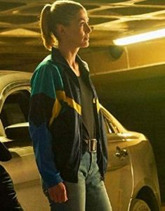 Rosamund Pike The Informer Jacket