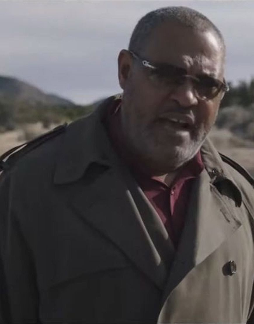 Running With the Devil Laurence Fishburne Coat