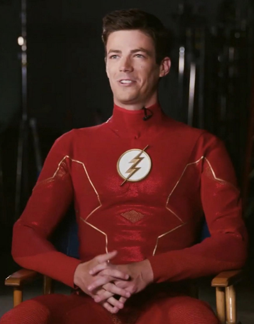 The Flash Season 6 Barry Allen Red Jacket