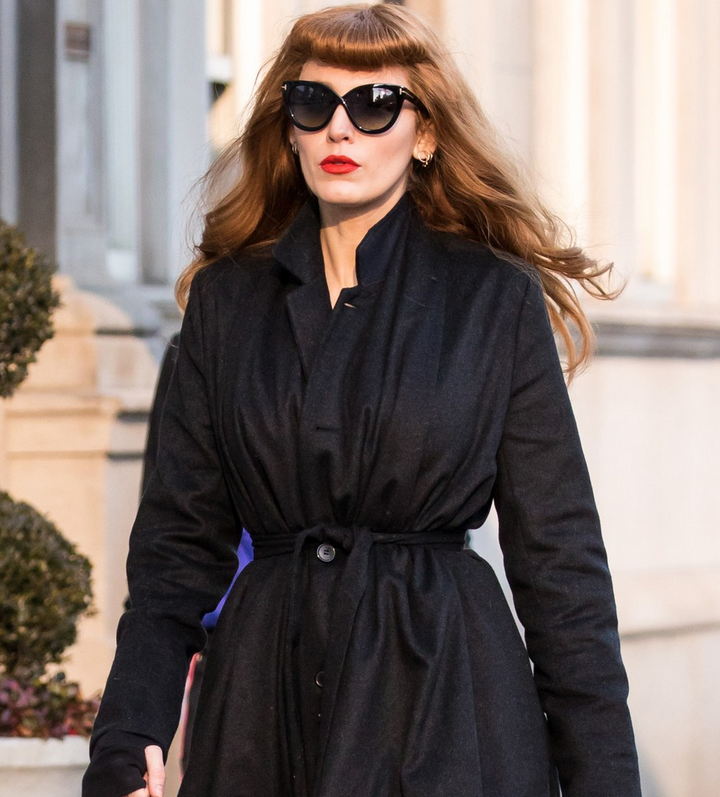The Rhythm Section Blake Lively Wool Blend Trench Coat 0