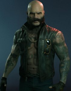 Vampire The Masquerade Bloodlines 2 Brujah Clan Vest