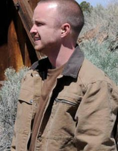 Aaron-Paul-Breaking-Bad-Jesse-Pinkman-Brown-Jacket