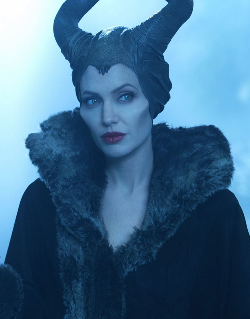 Angelina-Julie-Maleficent-Faux-Fur-Shearling-Wool-Coat
