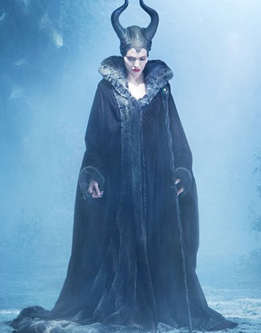 Angelina-Julie-Maleficent-Woolen-Coat
