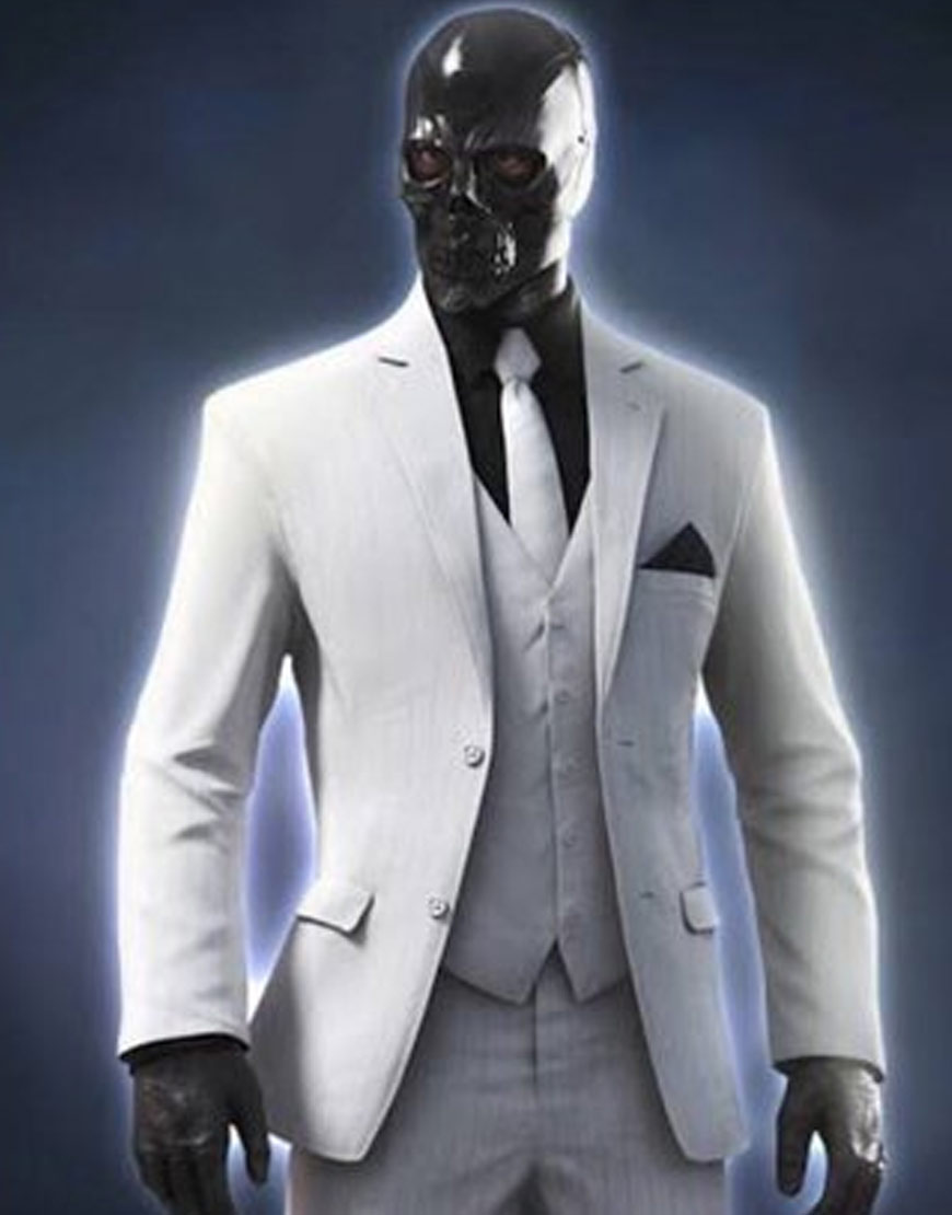 Birds-Of-Prey-Black-Mask-White-Blazer