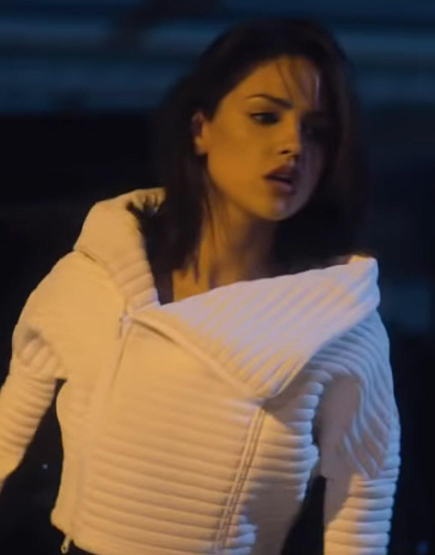 Bloodshot-Eiza-Gonzalez-White-Jacket