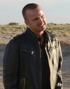 Breaking-Bad-Jesse-Pinkman-Black-Leather-Bomber-Jacket