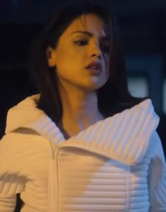 Eiza-Gonzalez-Bloodshot-White-Wide-Collar-Jacket