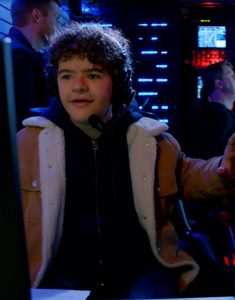 Gaten-Matarazzo-Brown-Corduory-Jacket